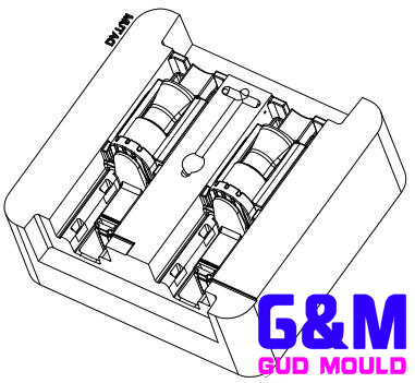 Power tool housing injection mold design