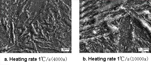 Effect of Tempering Heating Rate on Microstructure and Properties of 3Cr2MnNiMo Steel