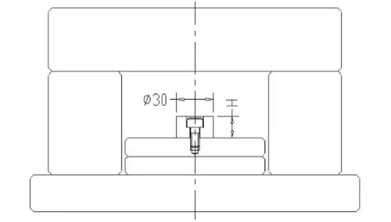 Design experience points for injection mold slider and lifter