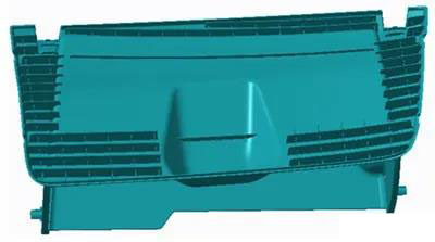 Research on Processing Technology of Moveable Mold Core of Outer Cover of Automobile Glove Box