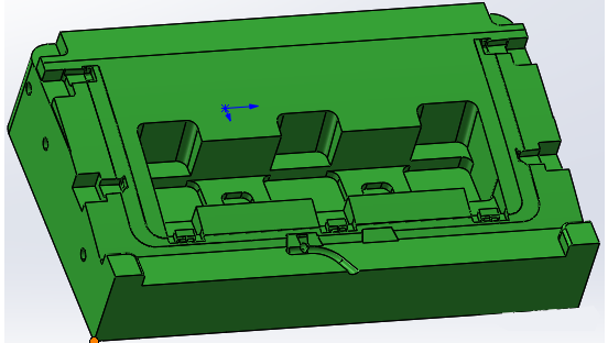 Design of Injection Mould for Green Single Door Refrigerator Drawer and U-shaped door frame cover