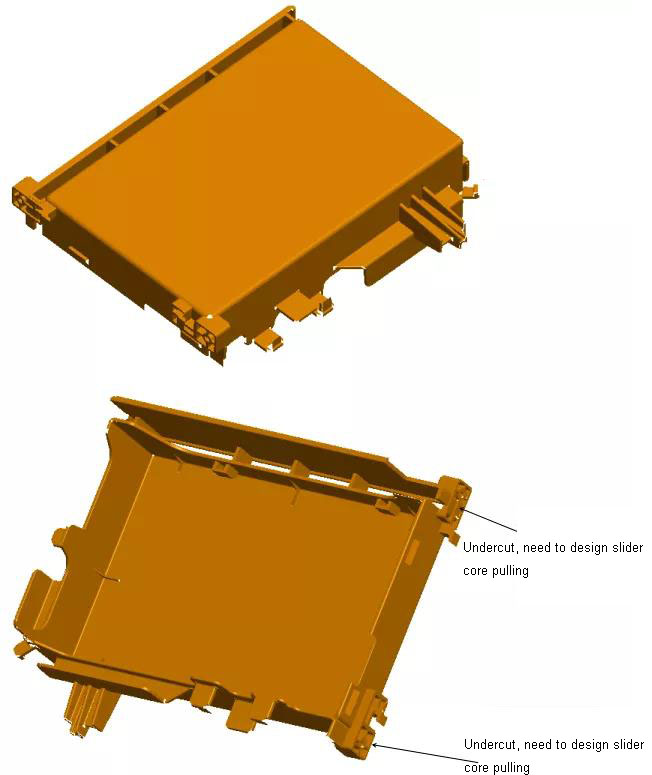 PCB guide plate injection mold design points + 3D drawing files